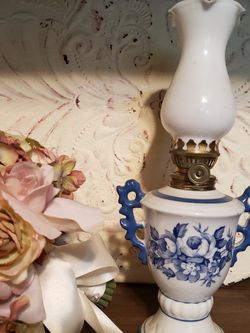 Antique Oil Lamp - Made In JAPAN for Sale in Mesa,  AZ