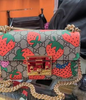 100% AUTHENTIC NEW Strawberry gucci purse,CHANEL SHOULDER BAG, LV SNOW BOOTS for Sale in Suitland, MD