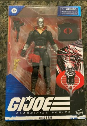 GI Joe Destro 6 Inch Classified Series Collectible Action Figure Toy for Sale in Chicago, IL