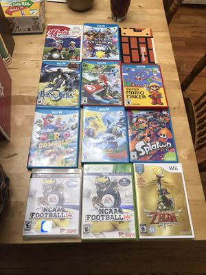 Nintendo Wii U, ps3 and Xbox 360 games for Sale in Arlington, WA