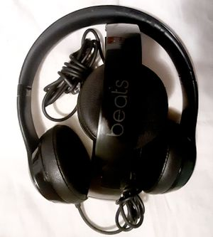 Beats solo 3 wired black for Sale in Kent, OH