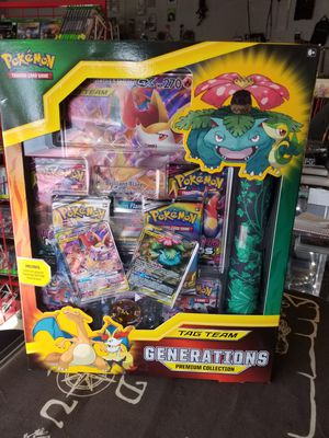 Pokemon Tag Team Generations Premium Collection for Sale in San Bernardino, CA