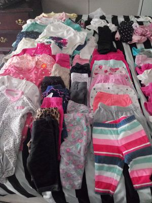 0-3 and 3 month baby girl clothes for Sale in Greensboro, NC