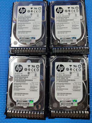 HP Enterprise SAS drives x4 7.2k rpm 1TB for Sale in Howell Township, NJ