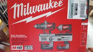 Milwaukee M18 Brushless 2]-]Tool combo kit for Sale in Salt Lake City, UT
