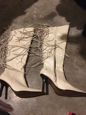 Fringed Boots. 8.5 for Sale in Parma, OH