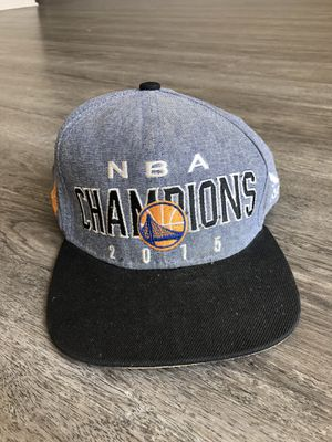 Golden State Warriors 2015 NBA champions hat for Sale in Tampa, FL