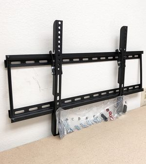 """(NEW) $15 Tilt 32""""-65"""" TV Wall Mount Television Bracket 15 Degree Up/Down Slim for Sale in South El Monte, CA"""