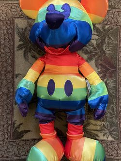 Disney Mickey Mouse Rainbow Plush for Sale in Seattle,  WA