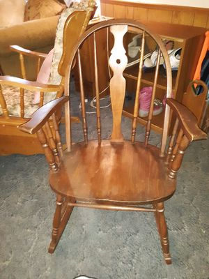Windsor rocking chair for Sale in Rustburg, VA