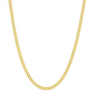 "DIAMANTE Gold Over Silver 24"" Double Curb Chain Necklace ($457.50 Retail) for Sale in College Park, MD"