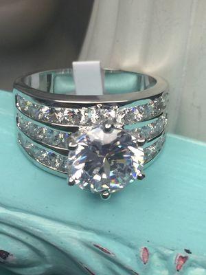 18k White Gold Filled Engagement Ring Size 9 for Sale in Nashville, TN