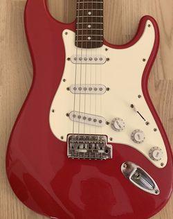 fender squier stratocaster guitar for Sale in Pompano Beach,  FL