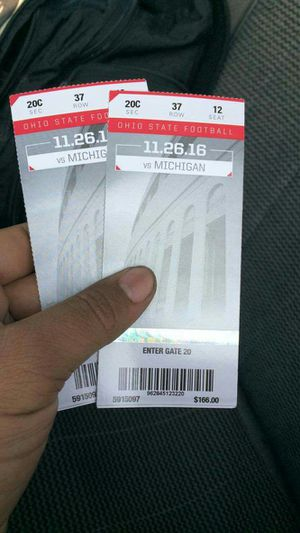 Tickets Osu for Sale in Newark, OH