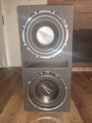 Audiobahn12 inch subwoofers in ported box for Sale in Tacoma, WA