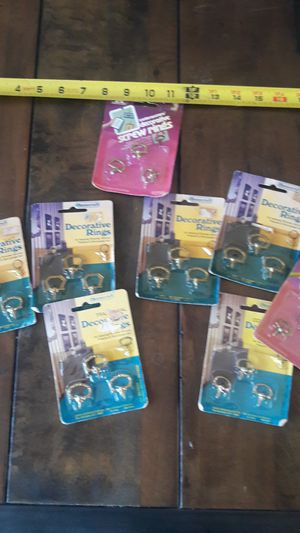 Screw rings For hanging for Sale in Dublin, CA