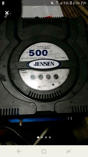 Jensen XA2125 2/1 Channel 500 Watt Car Amplifier for Sale in Swansea, IL