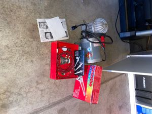 Airbrush compressor set paasche for Sale in Perris, CA
