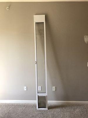 Sliding glass cat/dog door for Sale in Plano, TX