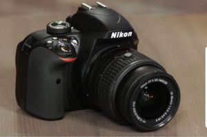 Nikon D3300 Camera bag, and charger two lenses for Sale in Las Vegas, NV