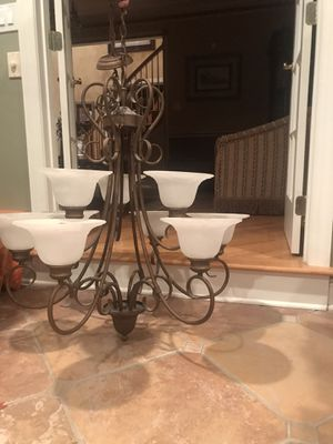 Entry chandelier/ light for Sale in Manalapan Township, NJ