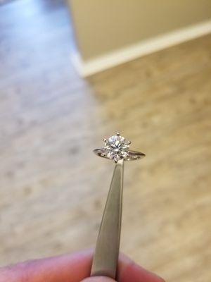 Solitaire Diamond Engagement Ring 18K-$4500 for Sale in Dallas, TX