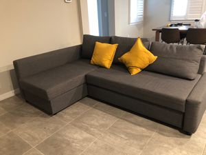 Grey Ikea Couch for Sale in Lutz, FL