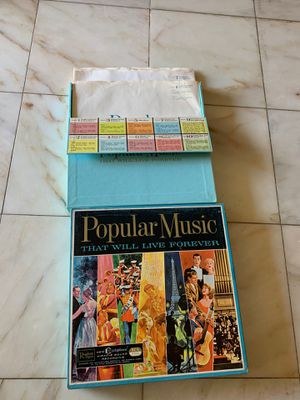 Readers digest 10 vinyl records box set popular music that will live forever lp for Sale in Placentia, CA