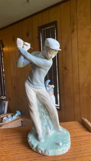 Lladro Spanish Porcelain Golfer Figurine for Sale in Beaverton, OR