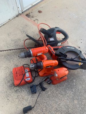 Lot of Black and Decker Power Tools for Sale in Tarpon Springs, FL
