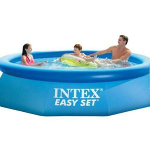 Intex Easy Set 10ft x 30in Above Ground Inflatable Round Swimming Pool for Kids for Sale in Arlington, VA