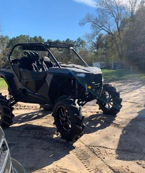 2015 Polaris RZR 900s with 14 ft utility trailer for Sale in Houston, TX