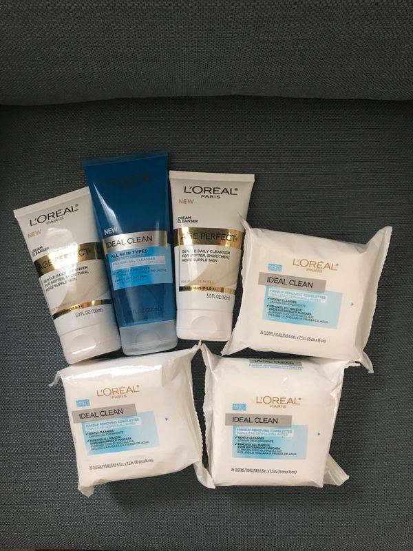 L'Oréal beauty care package