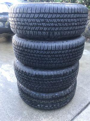 Yokohama Geolander 215/60/16 tires and rims for Subaru for Sale in Ruston, WA