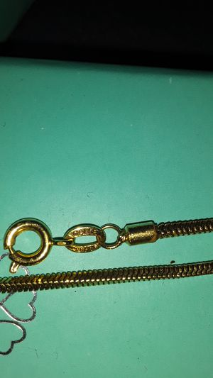 18k chaine broke on the adjust side for Sale in Edgewood, FL