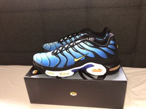 AIR MAX PLUS OG HYPER BLUE 2018 for Sale in Albany, NY