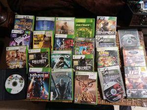 Xbox 360games for Sale in Kolin, LA