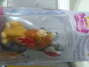 Disney's lady and the tramp tree ornament for Sale in GOODLETTSVLLE, TN
