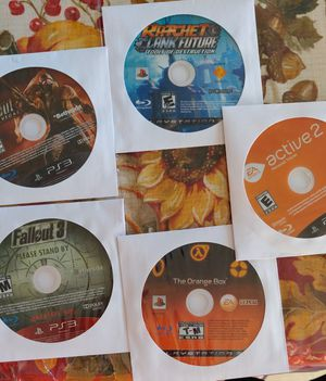 Ps3 lot of 5 for Sale in Coral Springs, FL