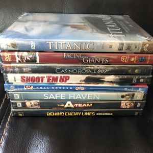 New, sealed DVDs! $15 for all. for Sale in Mason, OH