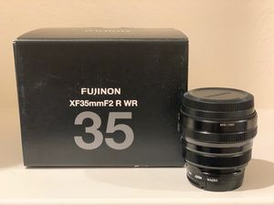 FUJINON XF35mmF2 R WR for Sale in Guadalupe, CA