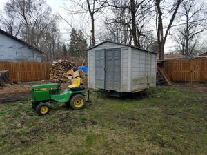 John Deere tractor 318 w/impliments and 3-point tractor for Sale in Hickory Hills, IL