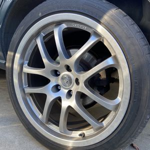 19 Inch Infiniti G35 Sport Rays Staggered for Sale in Salinas, CA
