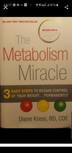 The Metabolism Miracle for Sale in Grand Terrace, CA