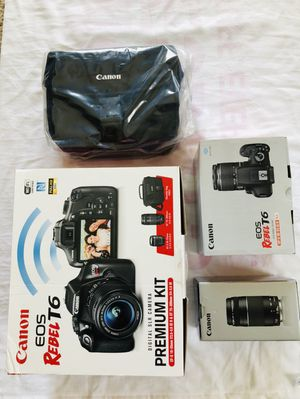 Canon Rebel T6 - New and Unused for Sale in Irving, TX