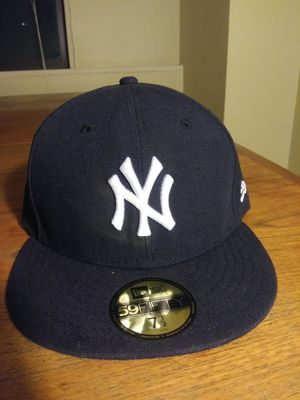 Official New York Yankees (Original Navy Blue) team fitted 7 1/2 New Era Major League Baseball hat for Sale in Washington, DC