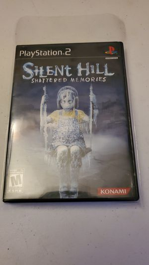 Silent Hill Shattered Memories Ps2 Playstation Konami Rare High Grade for Sale in Fresno, CA