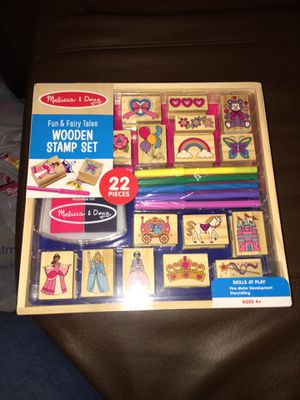 Wooden stamps for Sale in Lindale, TX