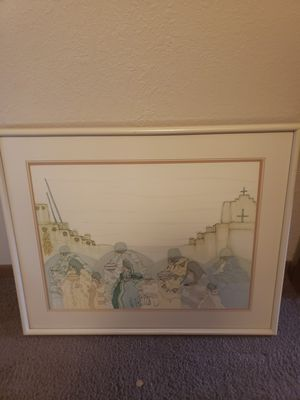 Southwest American Indian framed print for Sale in Big Lake, MN