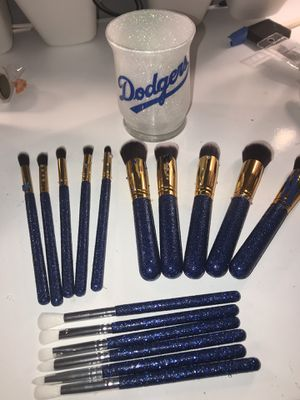 Glitter Makeup brushes for Sale in Perris, CA